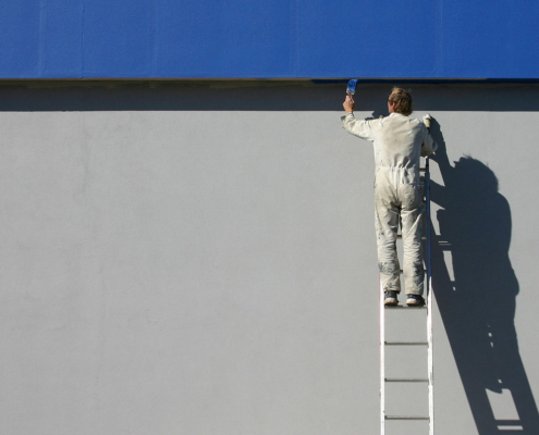 Tips to Keep Commercial Painting Project within Budget and Time Limit
