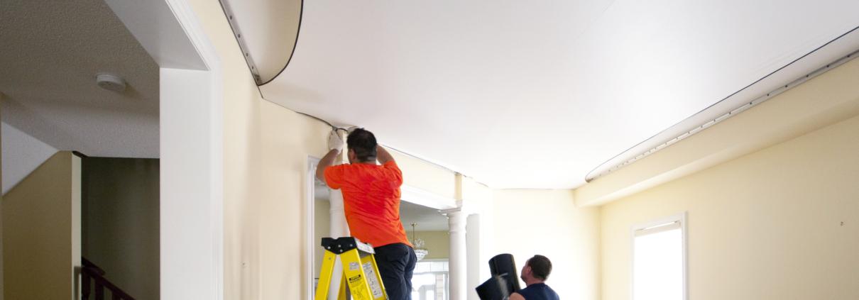 Paint a Ceiling like A Pro