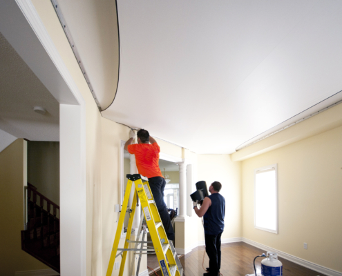 Paint a Ceiling like A Pro